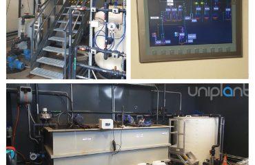 Il nuovo impianto chimico-fisico di Pogliano Milanese